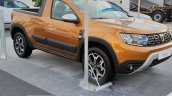 2018 Dacia Duster Pickup Front Three Quarters