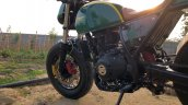 Modified Royal Enfield Himalayan Fuel Tank And Sid