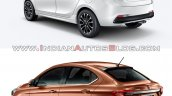 Tata Tigor Jtp Vs Tata Tigor Rear Three Quarters