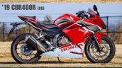 Honda Cbr400r Render Right Side