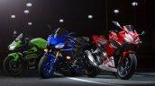 Honda Cbr400r Render With New Yamaha Yzf R3 And Ka