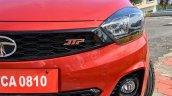 Tata Tiago Jtp Review Images Front Badge