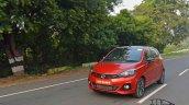 Tata Tiago Jtp Review Images Front Three Quarters