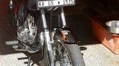 Kawasaki Bajaj 125 Rtz Restored By Vivek Front Lef