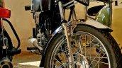Kawasaki Bajaj 125 Rtz Restored By Vivek Front Whe