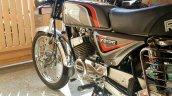 Kawasaki Bajaj 125 Rtz Restored By Vivek Left Rear