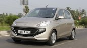 2019 Hyundai Santro Review Images Front Three Quat
