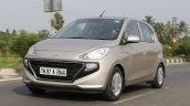 2019 Hyundai Santro Review Images Front Three Quat