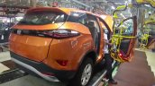Tata Harrier Production Pune Assembly Rear Three Q