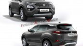 Tata Harrier Colours Grey