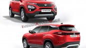Tata Harrier Colours Red