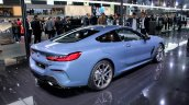 Bmw 8 Series Rear Quarters At 2018 Paris Auto Show