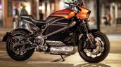 Harley Davidson Livewire Static Side Profile Press