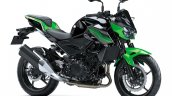 Kawasaki Z400 Side Profile Press Image