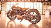 Royal Enfield Concept Kx Bobber V Twin Left Rear Q