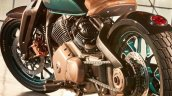 Royal Enfield Concept Kx Bobber V Twin Rear Quarte