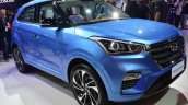 Hyundai Creta Diamond Concept Images Front Three Q