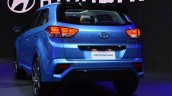 Hyundai Creta Diamond Concept Images Rear Three Qu