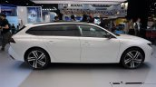 Peugeot 508 Sw Hybrid Side At 2018 Paris Auto Show