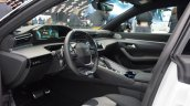Peugeot 508 Sw Hybrid Steering At 2018 Paris Auto