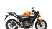 2019 Honda Cb500f Press Images Studio Shots Orange