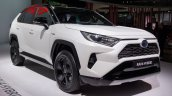2019 Toyota Rav4 Hybrid Images Front Three Quarter