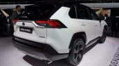 2019 Toyota Rav4 Hybrid Images Rear Three Quarters