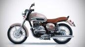 Jawa 300 Classic Beige And Chrome Iab Rendering