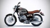 Jawa 300 Classic Black And Chrome Iab Rendering