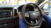 Mahindra Alturas Interior Image Steering Wheel Cen