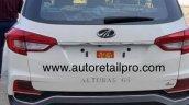 Mahindra Alturas White Colour Rear Image