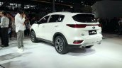 2019 Kia Kx5 2019 Kia Sportage Rear Three Quarters