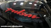 Bajaj Pulsar 150 Classic Black And Red Logo On Fue