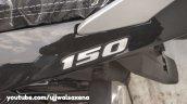 Bajaj Pulsar 150 Classic Black And Silver 150 Logo