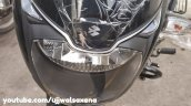 Bajaj Pulsar 150 Classic Black And Silver Headligh