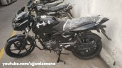 Bajaj Pulsar 150 Classic Black And Silver Left Sid