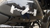 Bajaj Pulsar 150 Classic Black And Silver Logo On