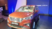 2018 Maruti Ertiga Launch Event Image Front Three