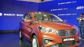 2018 Maruti Ertiga Launch Event Images Front Angle