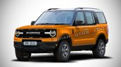 2020 Ford Baby Bronco Rendering