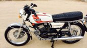 Yamaha Rd350 Restored Bluesmoke Customs Left Side
