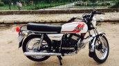 Yamaha Rd350 Restored Bluesmoke Customs Right Side