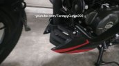 2019 Bajaj Pulsar 150 Twin Disc Underbelly Panel