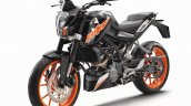 Ktm 200 Duke Abs Launched In India Left Front Quar