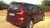 2018 Maruti Ertiga Image Rear Three Quarters 1