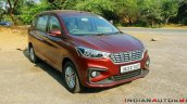 2018 Maruti Ertiga Image Rear Three Quarters 2