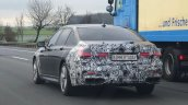 2019 Bmw 7 Series Facelift Rear Three Quarters Spy