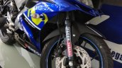 Customised Yamaha R15 Movistar Graphics Front Quar