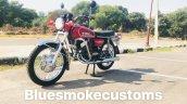 Yamaha Rd350 Restored By Prateek Khanna Left Front