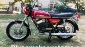 Yamaha Rd350 Restored By Prateek Khanna Left Side